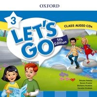 Let's Go Fifth edition Level 3 Class Audio CD (2)
