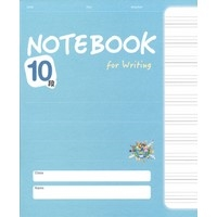 NOTEBOOK for writing 10段 BLUE (10冊PACK) [NEW EDITION}