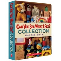Can You See What I See? Collection (6 Books & 1 CD)