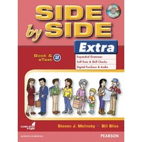 Side by Side Level 2 Extra : Student Book and eText with CD Highlights
