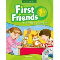 First Friends 1 Student Book/Workbook A + Audio CD Pack