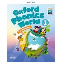 Oxford Phonics World Refresh version Level1 Student Book with APP