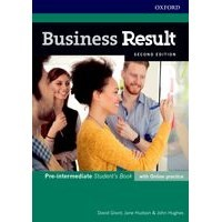 Business Result Pre-Intermediate 2nd edition Student's Book and Online Practice Pack