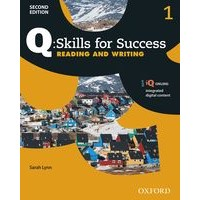 Q: Skills for Success: 2nd Edition - Reading and Writing 1 Student Book with iQ Online