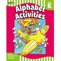 Flash Kids Flash Skills Workbooks Alphabet Activities Grade PreK-K