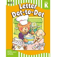 Flash Kids Flash Skills Workbooks Letter Dot-to-Dot Grade Pre-K-K
