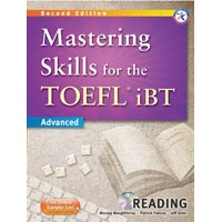 Mastering Skills for the TOEFL iBT Advanced (2/E) Mastering Reading Book + MP3 CD