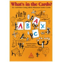 ABC Cards(What's in The Cards? ABCカードで遊ぼう!) Teacher's Book (English version)