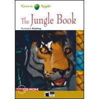Black Cat Green Apple Readers Starter The Jungle Book Book + CD