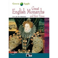 Black Cat Green Apple Readers 2 Great English Monarchs and their Times Book + CD