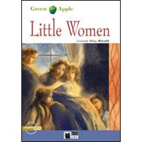 Black Cat Green Apple Readers 1 Little Women Book + CD