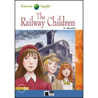 Black Cat Green Apple Readers 1 The Railway Children Book + CD
