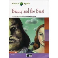 Black Cat Green Apple Readers Starter Beauty and the Beast Book + CD