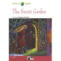 Black Cat Green Apple Readers Starter The Secret Garden Book + CD