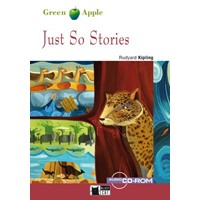 Black Cat Green Apple Readers Starter Just So Stories Book + CD