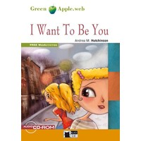 Black Cat Green Apple Readers 1 I Want To Be You Book + CD