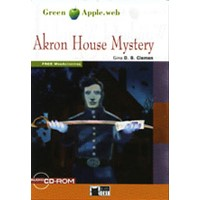 Black Cat Green Apple Readers 1 Akron House Mystery Book + CD
