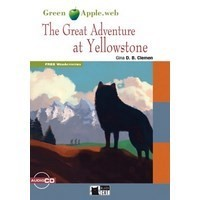 Black Cat Green Apple Readers 1 Great Adventure in Yellowstone Book + CD