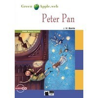 Black Cat Green Apple Readers Starter Peter Pan Book + CD
