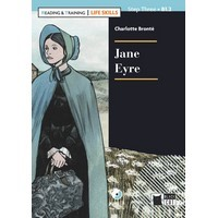Black Cat Readers Reading & Training 3 Life Skills Jane Eyre Book + CD