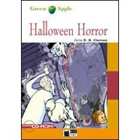 Black Cat Green Apple Readers Starter Halloween Horror Book + CD