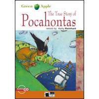 Black Cat Green Apple Readers 1 The True Story of Pocahontas Book + CD