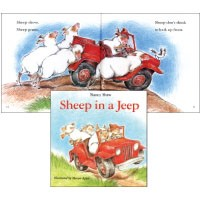 JY Books Series Sheep in a Jeep + CD