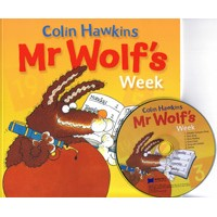 JY Books Series Mr Wolf's Week + CD