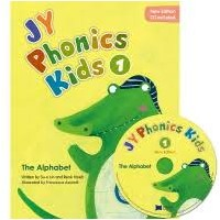 NEW JY Phonics Kids 1 SB+CD
