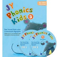 NEW JY Phonics Kids 5 SB+CD
