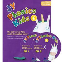 NEW JY Phonics Kids 6 SB+CD
