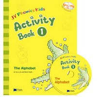 JY Phonics Kids 1 Activity Book with CD