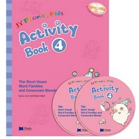 JY Phonics Kids 4 Activity Book with CD