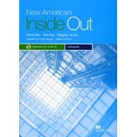 New American Inside Out Intermediate Workbook + CD