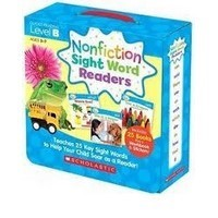 Non Fiction Sight Word Readers B +CD
