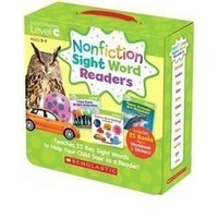 Non Fiction Sight Word Readers C +CD