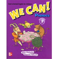 We Can! 3 Phonics Workbook + CD