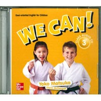 We Can! 3 Class Audio CD