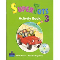 SuperTots 3 Activity Book + CD