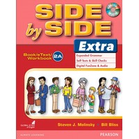 Side by Side Level 2 Extra : Student Book A, eText A, Workbook A with CD