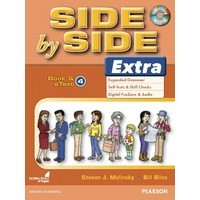 Side by Side Level 4 Extra : Student Book and eText with CD Highlights