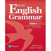 Azar Basic English Grammar (4/E) Student Book A with Essential Onlie Resources