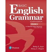 Azar Basic English Grammar (4/E) Student Book B with Essential Onlie Resources