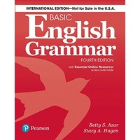 Azar Basic English Grammar (4/E) Student Book with Essential Online Resources