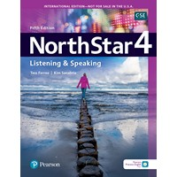 NorthStar 5E Listening & Speaking 4 Student Book with Mobile App & Resources