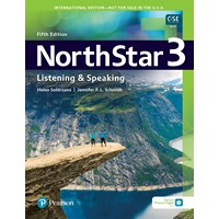 NorthStar 5E Listening & Speaking 3 Student Book with Mobile App & Resources