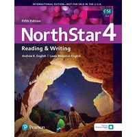 NorthStar 5E Reading & Writing 4 Student Book w/ app & Resources