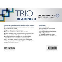 Trio Reading Level 3 Online Teachers Access Card Pack