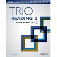 Trio Reading Level 3  Student Book with Online Practice