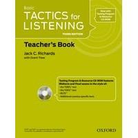 Tactics for Listening Basic (3/E) Teacher's Resource Pack